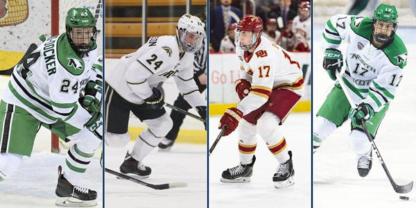 Nine Current Future And Former Nchc Players Selected To World