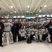 Frank and Winnie Pelawa with the Bemidji Bantam AA team