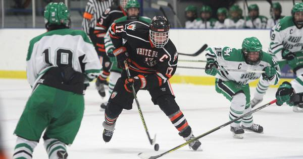 MN H.S.: White Bear Lake Rides Three Second-period Goals To Defeat Hill-Murray