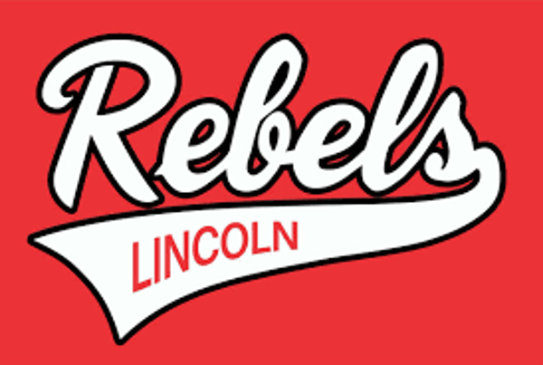 lincoln rebels baseball logo