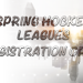 2018 spring leagues