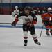 Kyle Nelson skates through the neutral zone for the Pics 16U team.