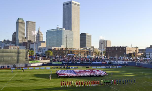 TU and ORU Men's Soccer to Meet at ONEOK Field in October
