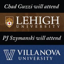 Chad Guzzi will attend Lehigh University and PJ Szymanski will attend Villanova University
