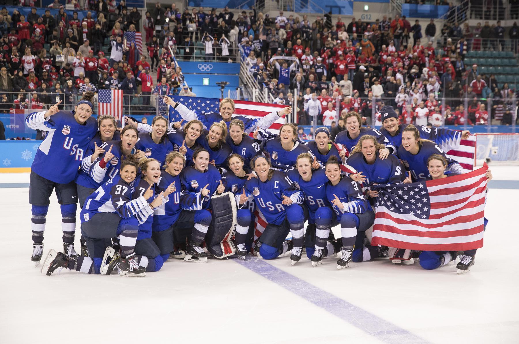 9b5df3a0626 U.S. Women Golden at 2018 Olympics
