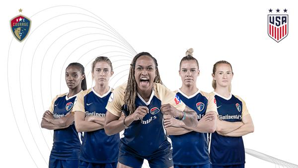 Five NC Courage Players Called into United States Women's National Team for November Trip to Portugal and Scotland
