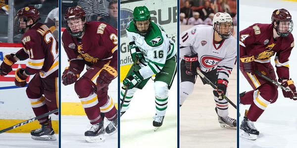 Nine Nchc Players Named To U S Roster For 2018 World Junior Summer