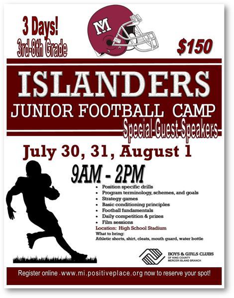 Mercer Island Islanders Football