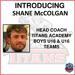 Shane McColgan Named Titans Academy Boys' U18 & U16 Head Coach