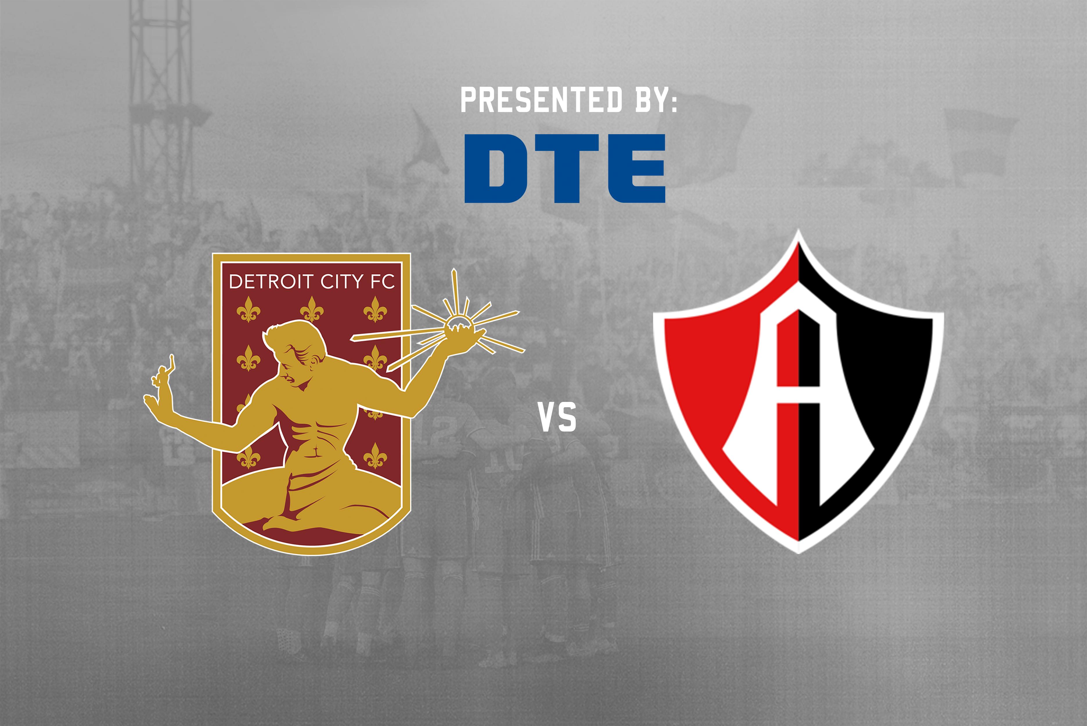 Detroit City FC welcomes Liga MX's Atlas FC on Saturday