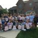 On Saturday morning, August 11th, the Saline High School Field Hockey team participated in the annual Saline Area Social Services Fall Food Drive.