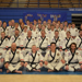 Black belt competitors getting ready for the 2019 All-City Champs tournament