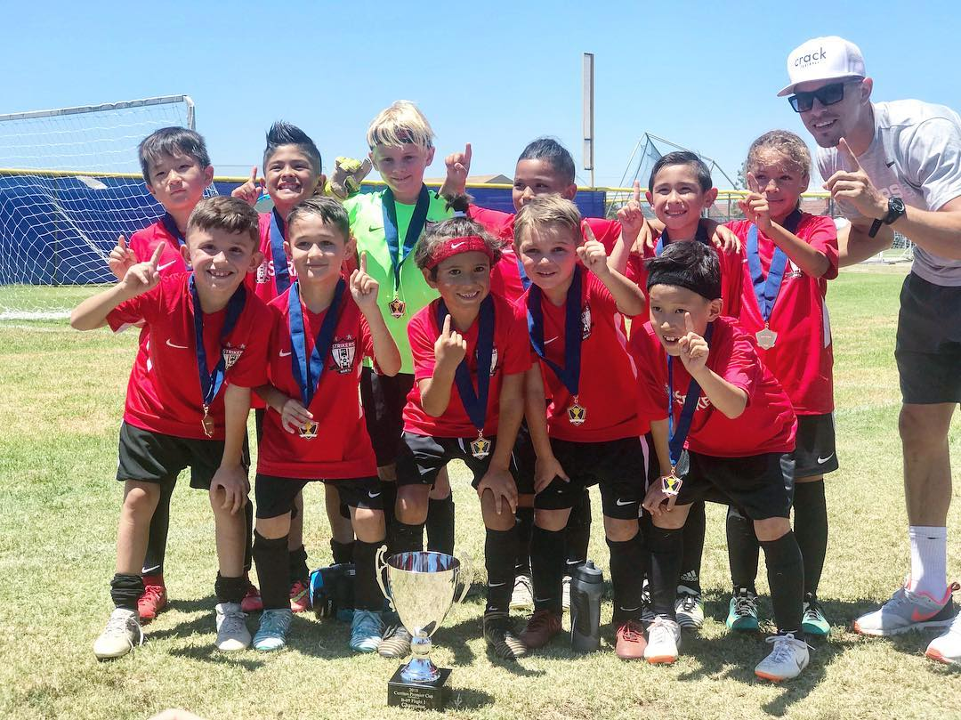 1a5b2e61d In there first tournament Strikers FC North B10 EB were crowned Cerritos  United Summer Champions.