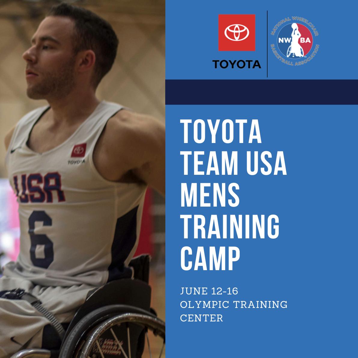 a676b28eb59 Toyota Team USA Men's Training Camp kicks off