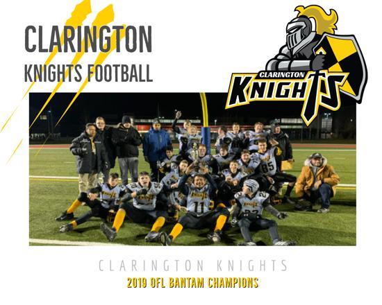 Our 2019 Bantam Championship Squad!!!!