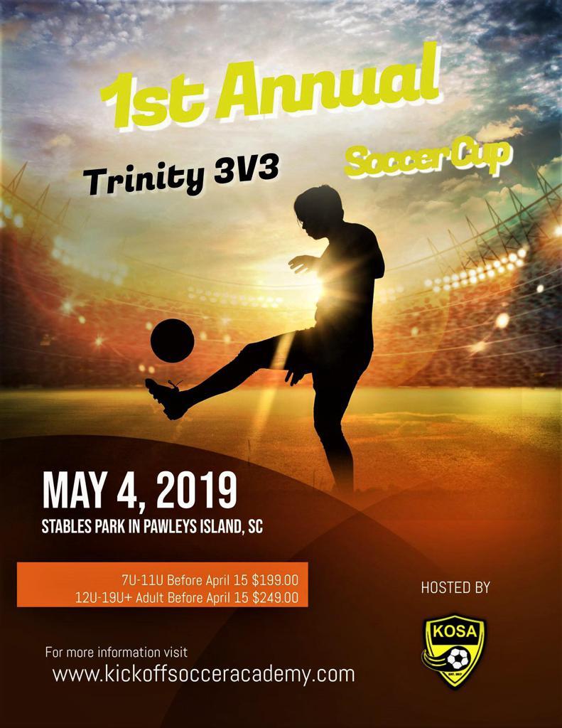 1st Annual Trinity 3v3 Soccer Cup