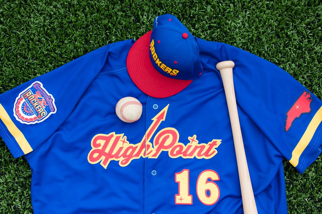 High Point Rockers Home Uniform