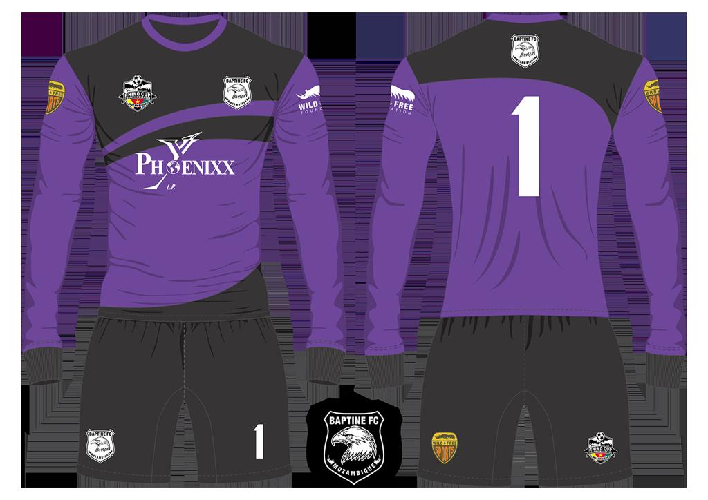 Baptine FC Eagles Goalkeeper Kit RCCL 2019