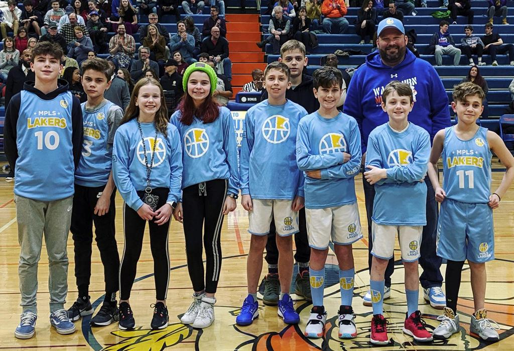Mpls Lakers Youth Traveling Basketball Program Inc Shot Club participants get recognized at Washburn High School