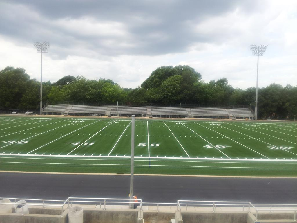 The New Phil Hughston Stadium