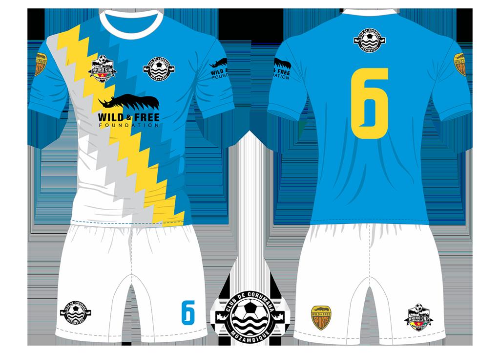 Corumana FC Waters Soccer Team Kit RCCL 2019