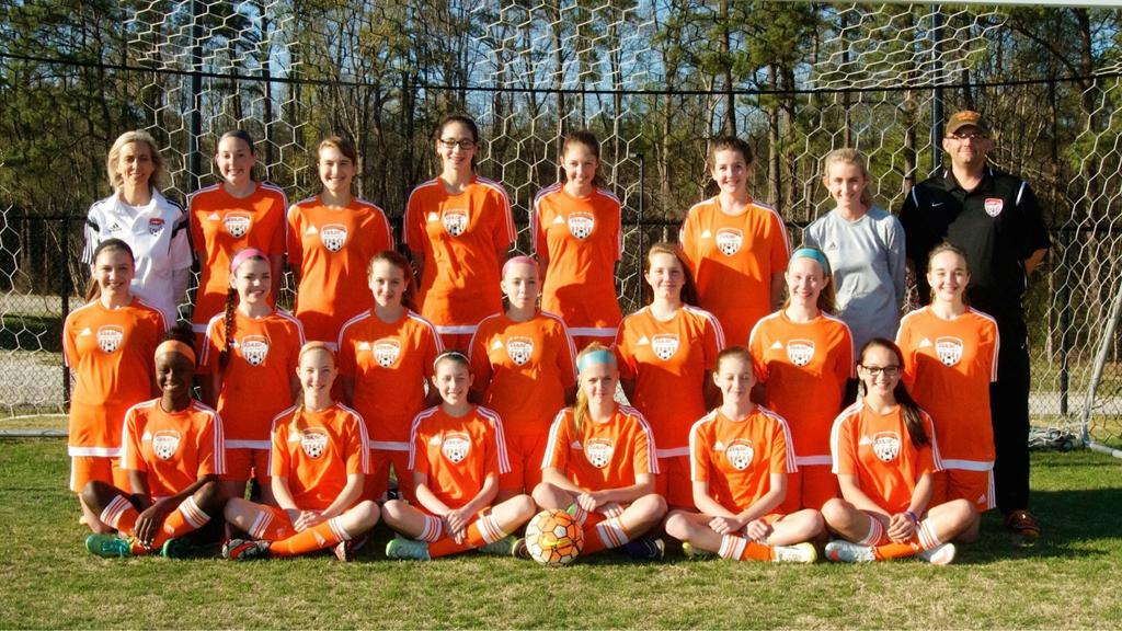2016 Girls Soccer Champs - East Wake Dash