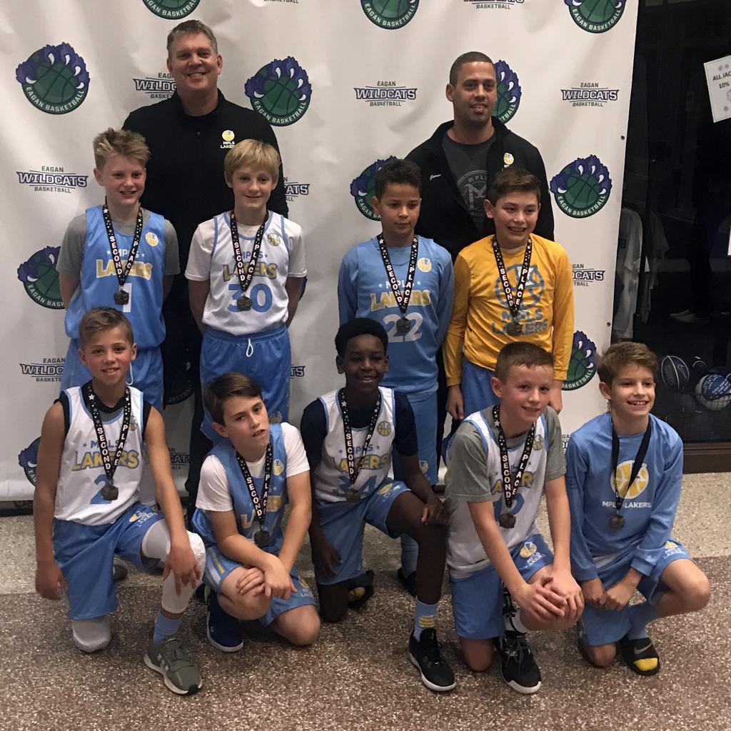 Boys 6th Grade Gold take 2nd Place at Eagan Run N Gun Classic. Way to go Lakers!