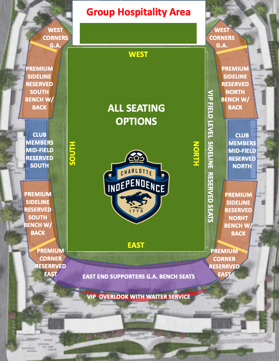 all seats map