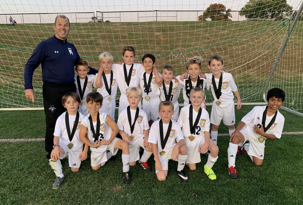 Our U9 boys won the gold at the Western Lehigh Valley Fall Classic.  Congratulations!