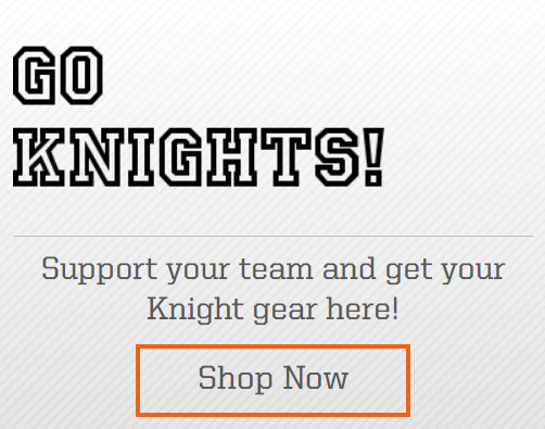 Knightdale team store logo