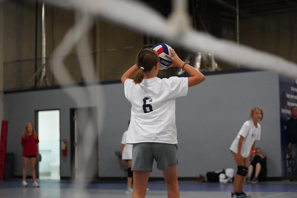 Youth volleyball in Reno