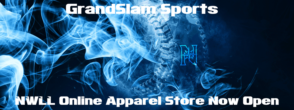GrandSlam Sports NWLL Online Apparel Store Now Open
