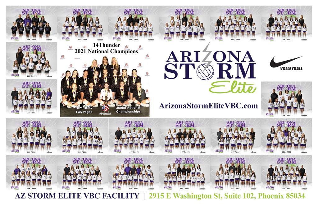 Arizona Storm Elite VBC's Facility