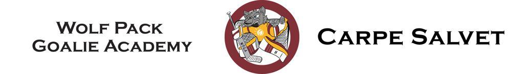HE Parks Wolf Pack Hockey Goalie Academy