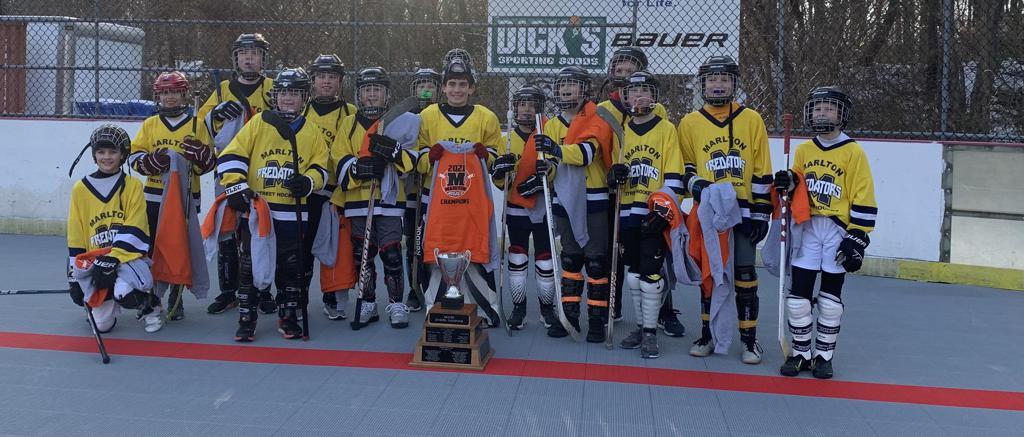 Beaver Stanley Cup Champions- Coach Kibler's Predators