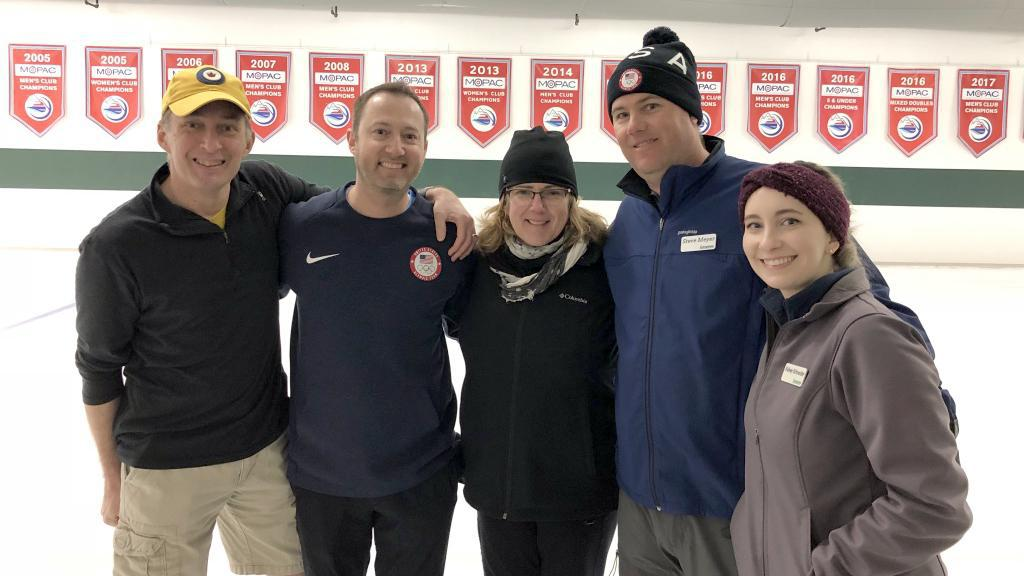 Instructors with Tyler George