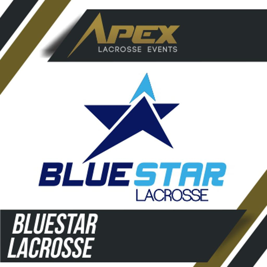 Blue Star Lacrosse Logo for APEX Lacrosse Events Summer Invitational