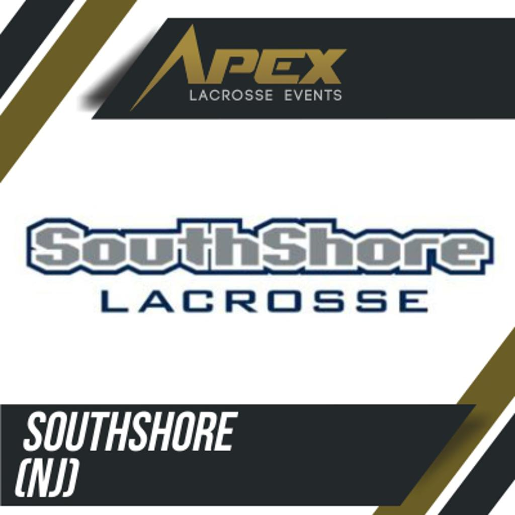 SouthShore Lacrosse Logo for APEX Lacrosse Events Summer Invitational