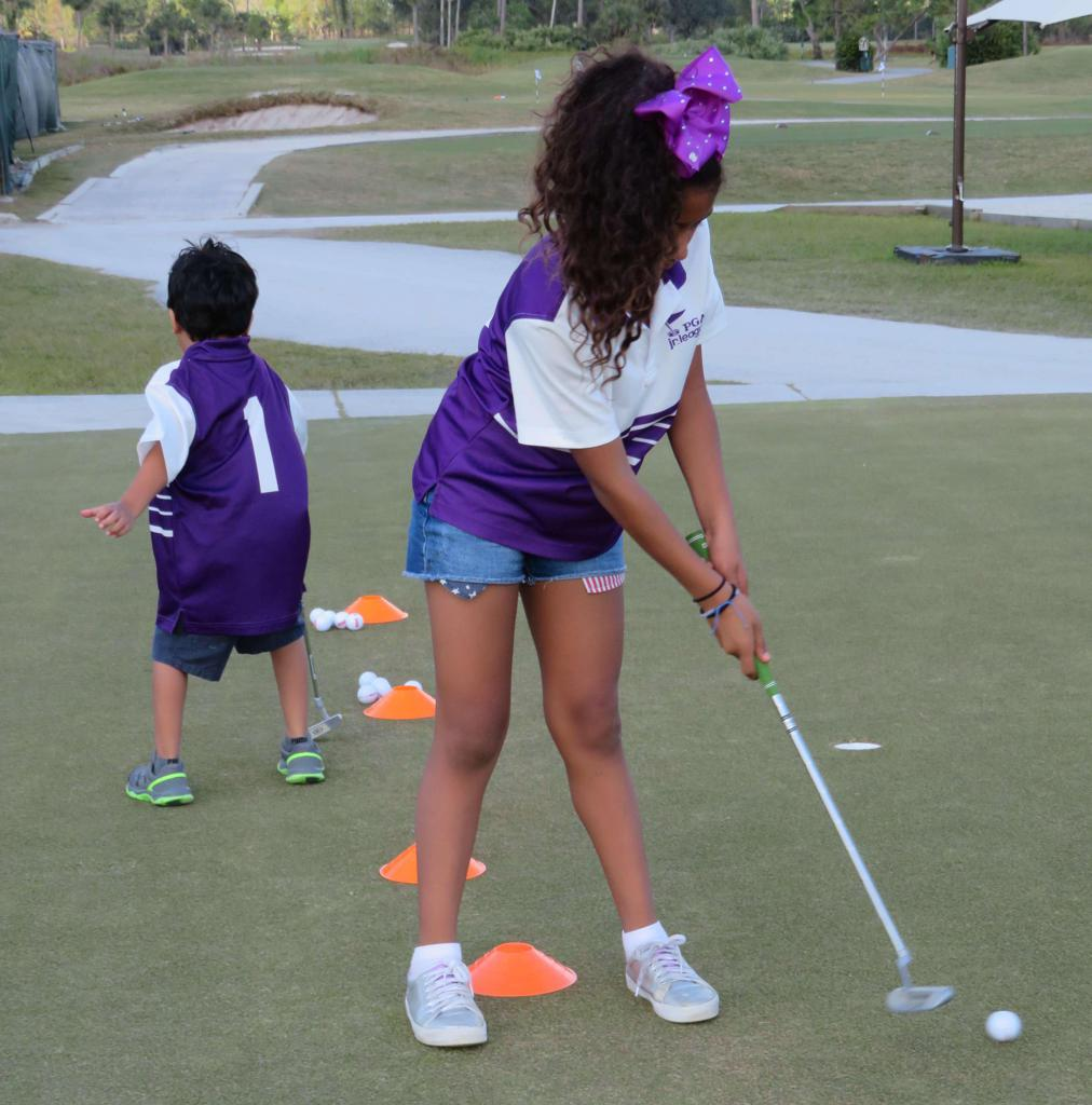 Sigma Pi Phi PGA Jr. League Participants