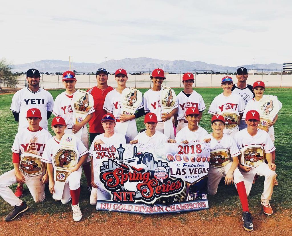 Las Vegas Spring Series Champions
