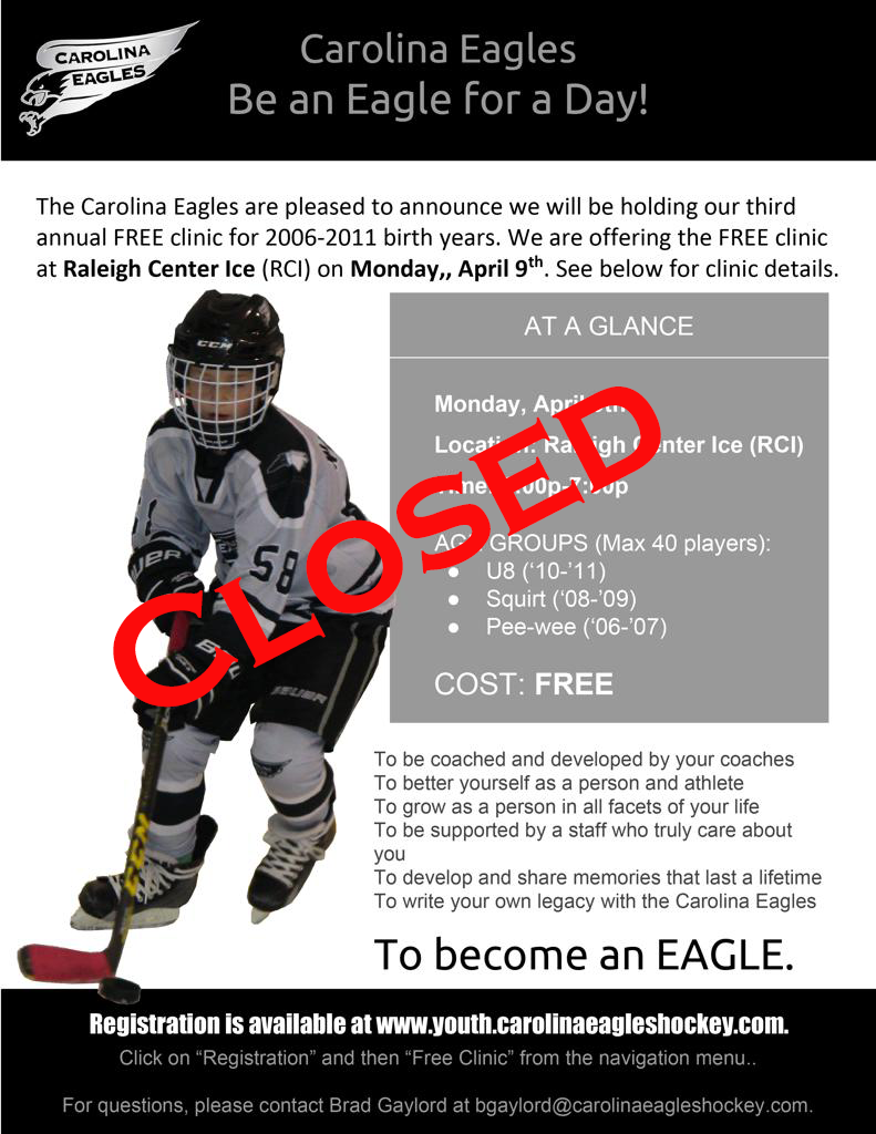 Eagles For A Day Flyer