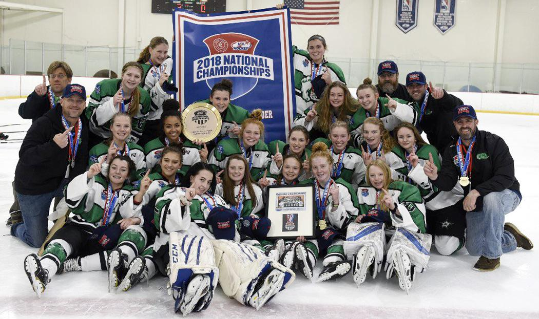 MN H.S.: Green Giants, Shattuck Win USA Hockey Girls Tier I National Championships