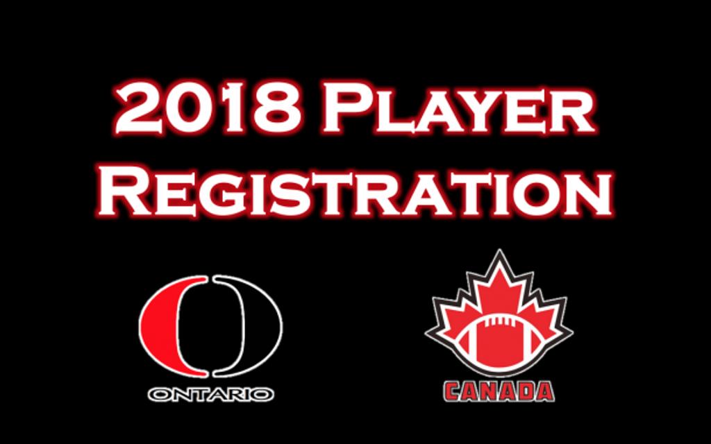 National Registry Player Registration