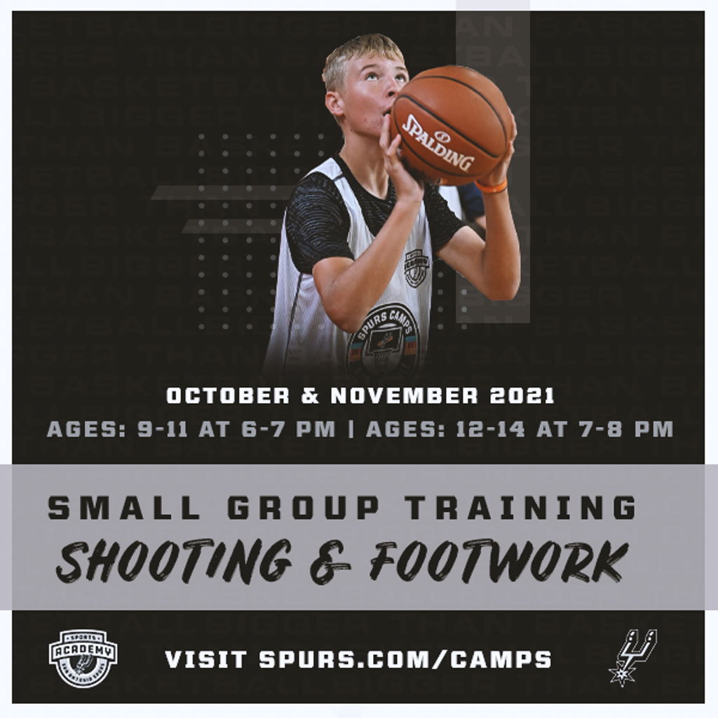 Spurs Sports Academy Shooting & Footwork