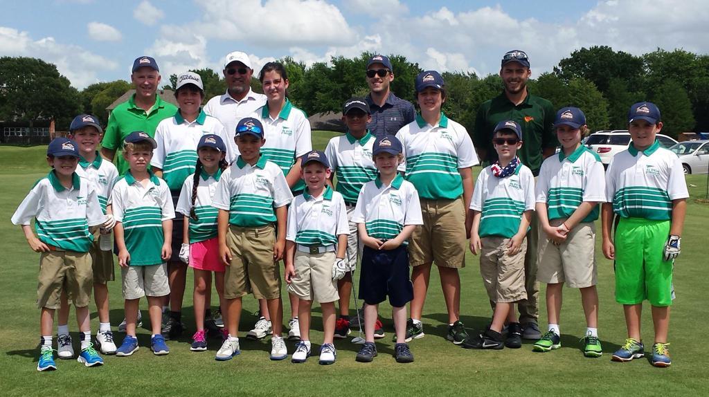 Aaron Pelletier is a member of the University Park Pythons PGA Jr. League team