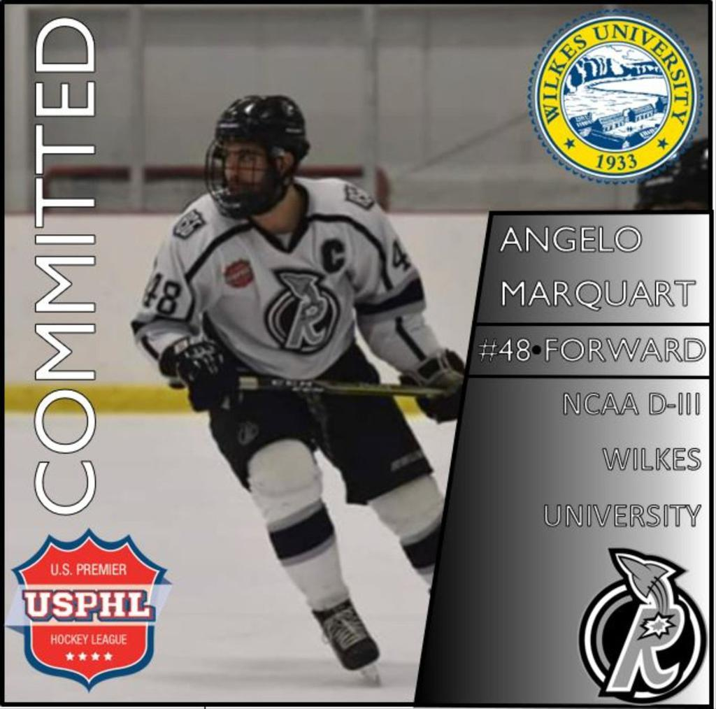 Hockey Techniques Coach Angelo commits to NCAA Wilkes University