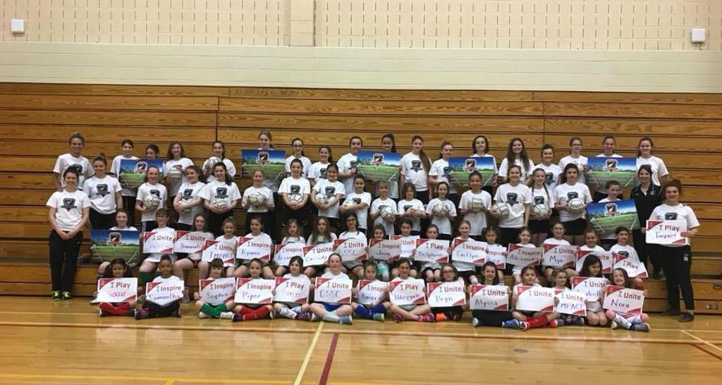 2018 All-Girls Soccer Camp