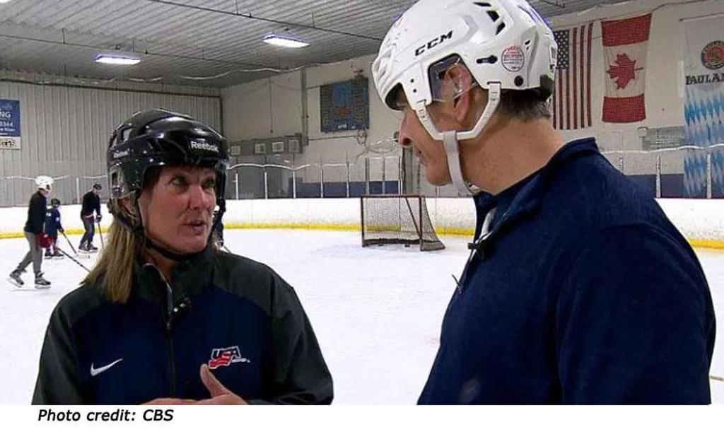 doris donley blind hockey interview