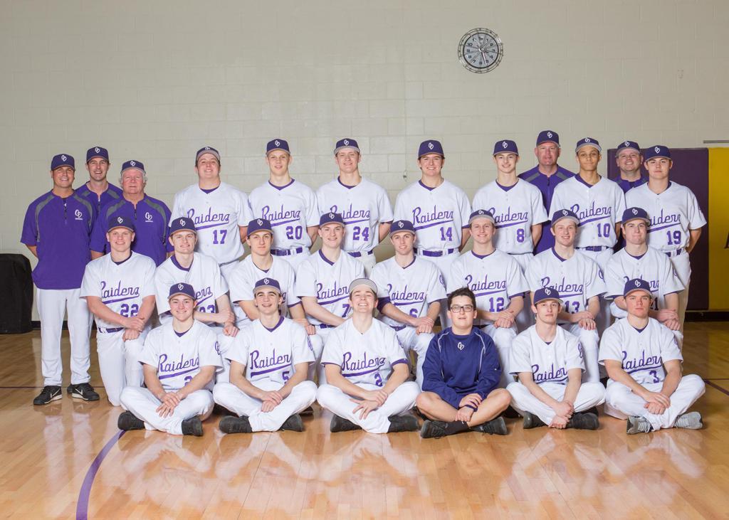 2018 Varsity Baseball Team