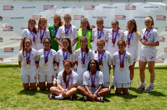 0358ffb6758 2018 North Texas State Cup Finalists U15 Girls Division